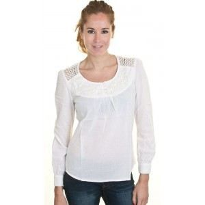 CHEMISIER - BLOUSE Tunique Kaporal Watt Blanc Casse -…