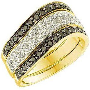 BAGUE - ANNEAU Bague Femme Diamants 0.75 ct  10 ct 471-1000 Or Ja