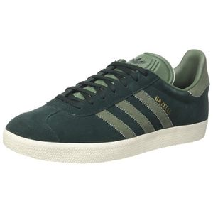 BASKET adidas Gazelle, Sneakers Basses Femme, Gris (Green