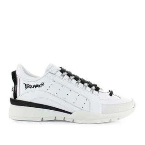 Chaussures Femme Baskets 551 Blanc Noir Dsquared2 Spring