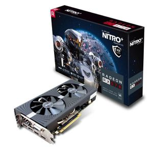 CARTE GRAPHIQUE INTERNE SAPPHIRE Carte graphique AMD NITRO+ Radeon™ RX 570