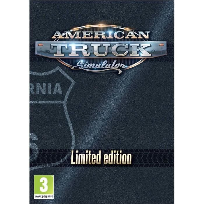 American Truck Complete Limited Edtion Jeu PC