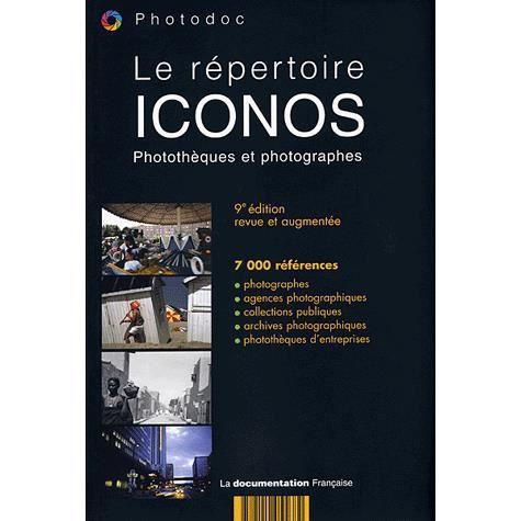 LIVRE PHOTOGRAPHIE Le répertoire Iconos
