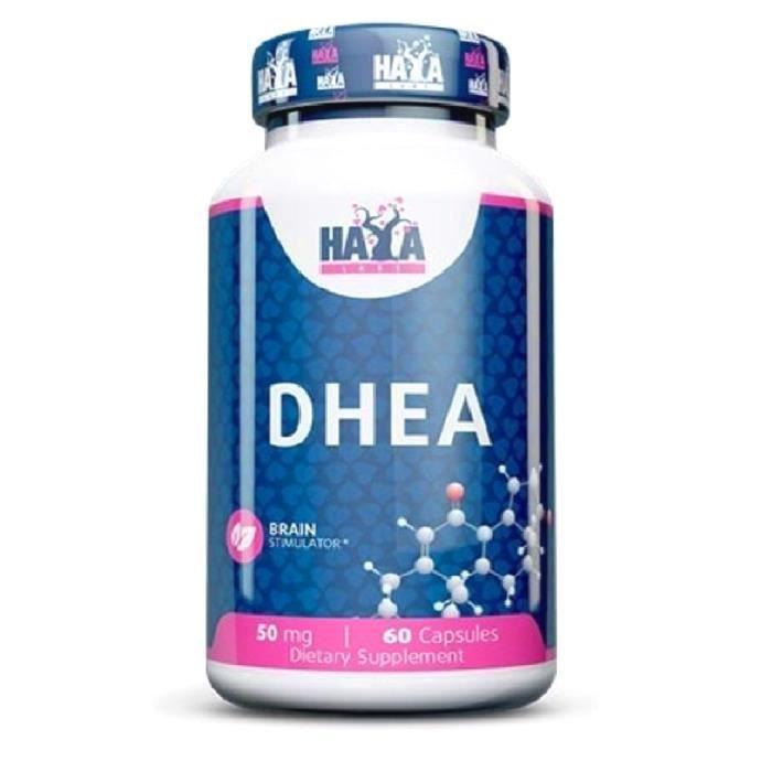 HAYA LABS DHEA --- 60 capsules x 100 mg