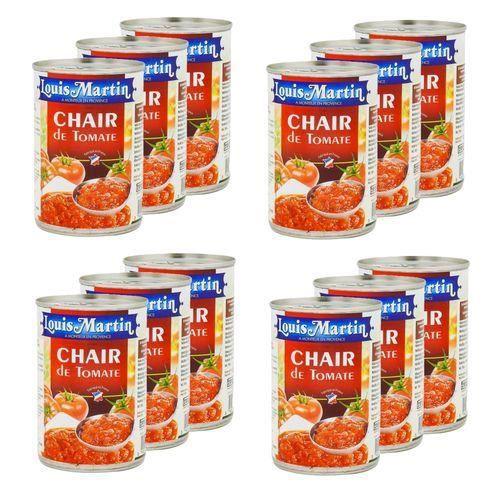 Lot 12x Chair de tomate de Provence - Louis Martin - boîte 400g