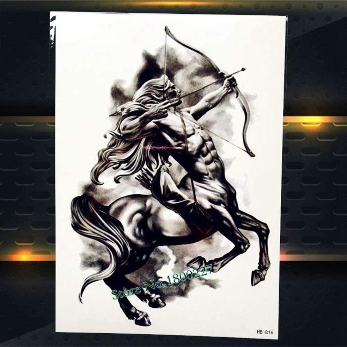 Tatouages de déguisement Zhuhuimin 5 pièces-Set Top qualité Sun Wukong Tatouage Hommes Bracelet 3D Singe Art du Corps Br 106709