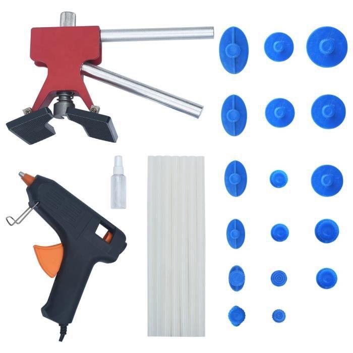 Kit de Réparation Outils Débosselage sans Peinture, pour Réparation de Dent Auto Voiture Carrosserie QI044