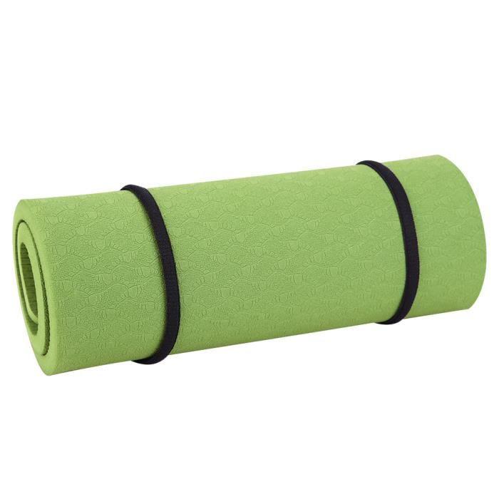 Qiilu coussin de remise en forme Le coussin de tapis de genouillère EVA Yoga Fitness soulage la douleur respectueux de