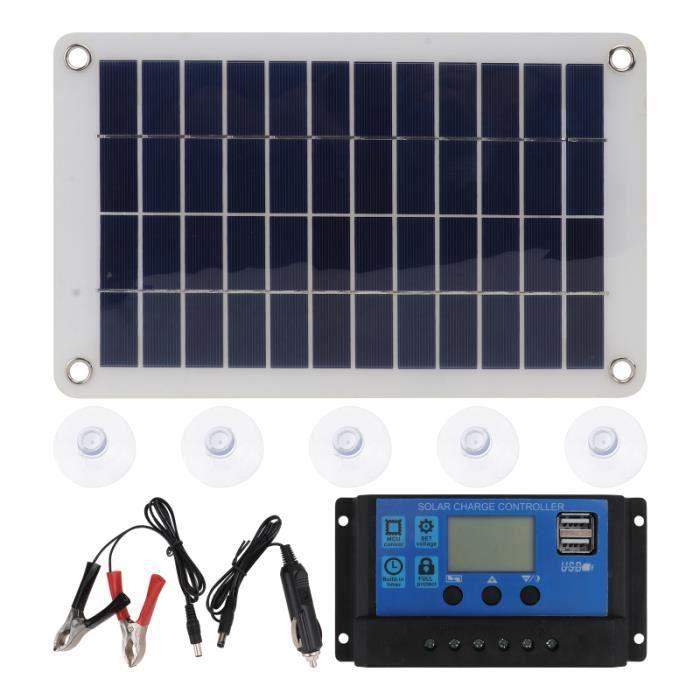 1 Panneau Solaire de de de Silicium Monocristallin de kit photovoltaique - kit solaire genie thermique - climatique - chauffage