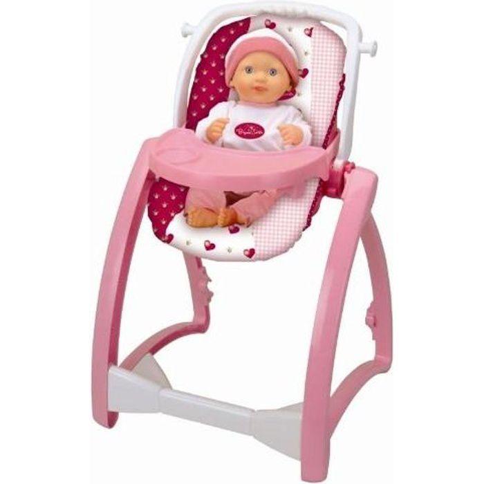 PRINCESS CORALIE - Chaise haute 4-en-1