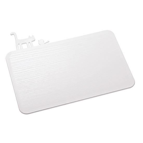 Planche à découper cuisine design blanche pi:p koziol