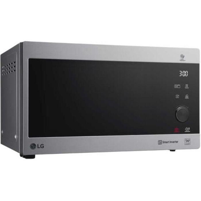 LG MH6565CPS, Toute la gamme, Micro-onde combiné, 25 L, 1000 W, Toucher, Argent, Acier inoxydable