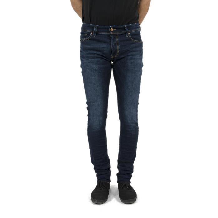 jeans diesel 00s7v sleenker bleu