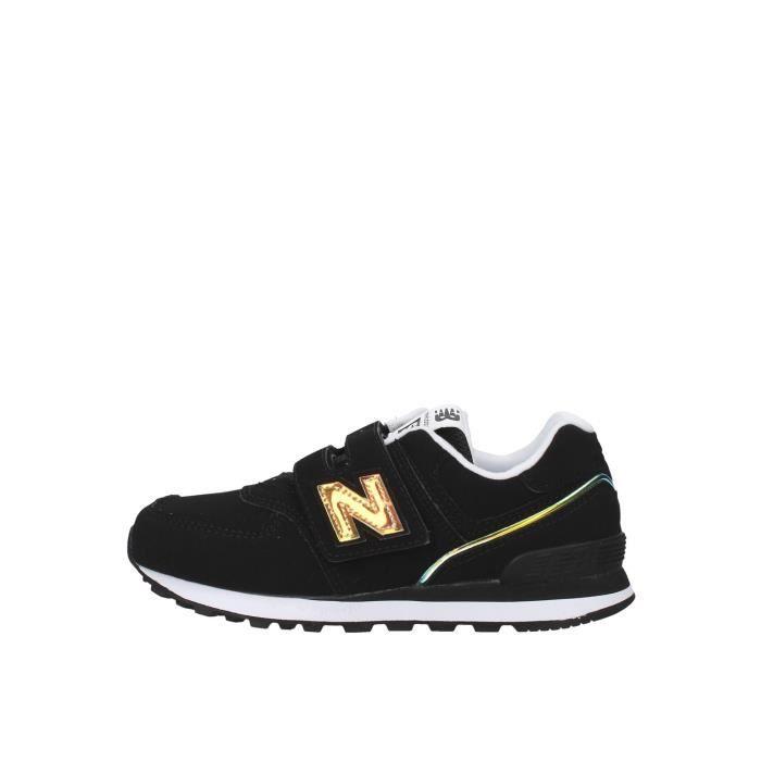 New Balance YV574MTK chaussures de tennis faible Enfant NOIR