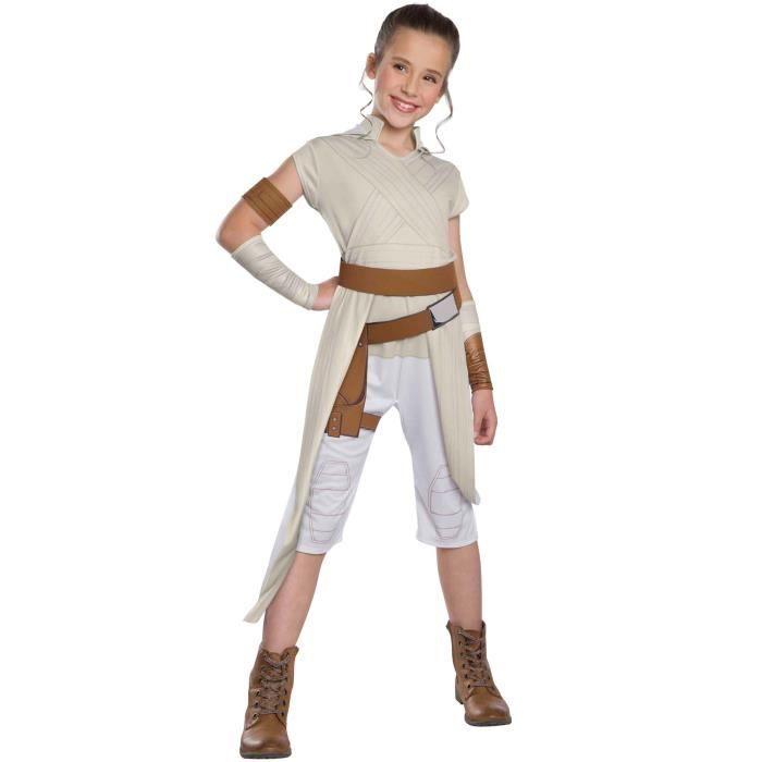 RUBIE'S. Déguisement de Rey Star Wars EP9 pour fille. 3 ans. Enfant