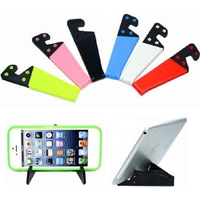 Support Pliable pour tout type de telephone et tablette - Blanc