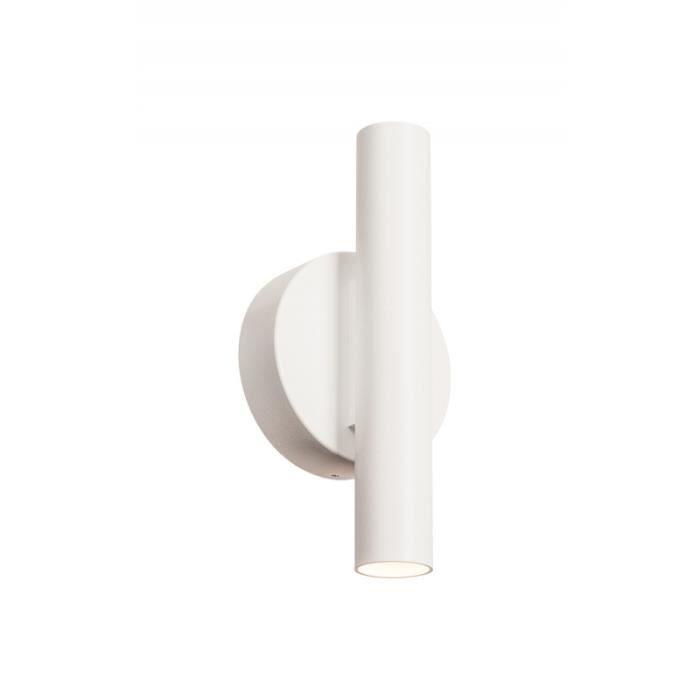 KARPO LED applique, UP DOWN, blanc, LED 10W 3000K Blanc