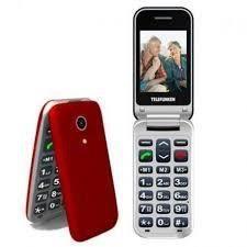 TELEFUNKEN Téléphone mobile à clapet Senior TM 210 IZY Rouge