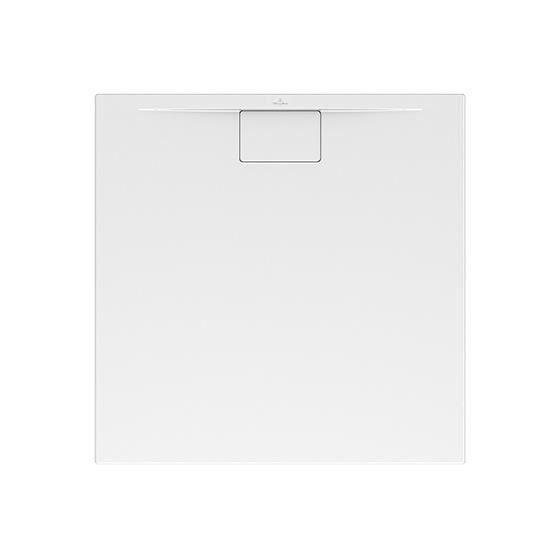 PLATEAU DE DOUCHE Villeroy & Boch mod. 90X80 ARCHITECTURA METALRIM sp. 48mm