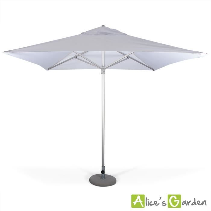 parasol haut de gamme carr 2 5x2 5m mariner achat vente parasol parasol haut de gamme. Black Bedroom Furniture Sets. Home Design Ideas