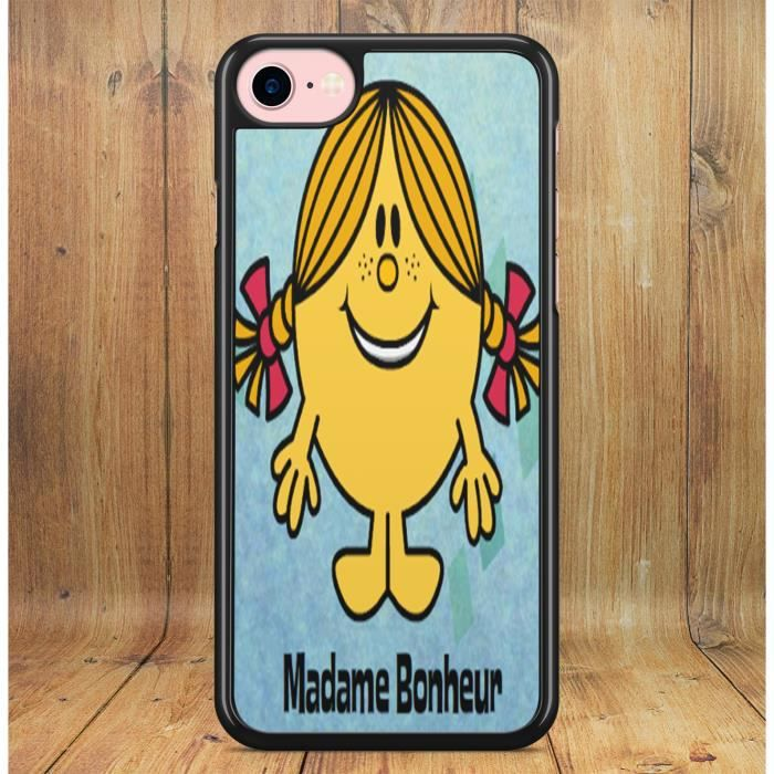 Coque iPhone 4 4s Madame Bonheur Bonhommes Collection Monsieur ...