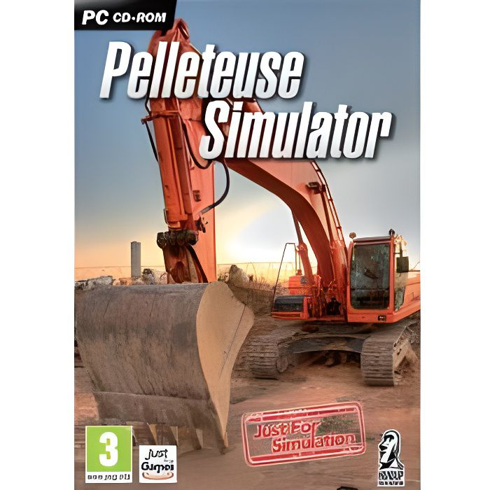 pelleteuse simulator jeu pc achat vente jeu pc pelleteuse simulator pc cdiscount. Black Bedroom Furniture Sets. Home Design Ideas