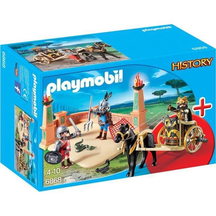 Photo de playmobil-6868-starter-set-combat-de-gladiateurs