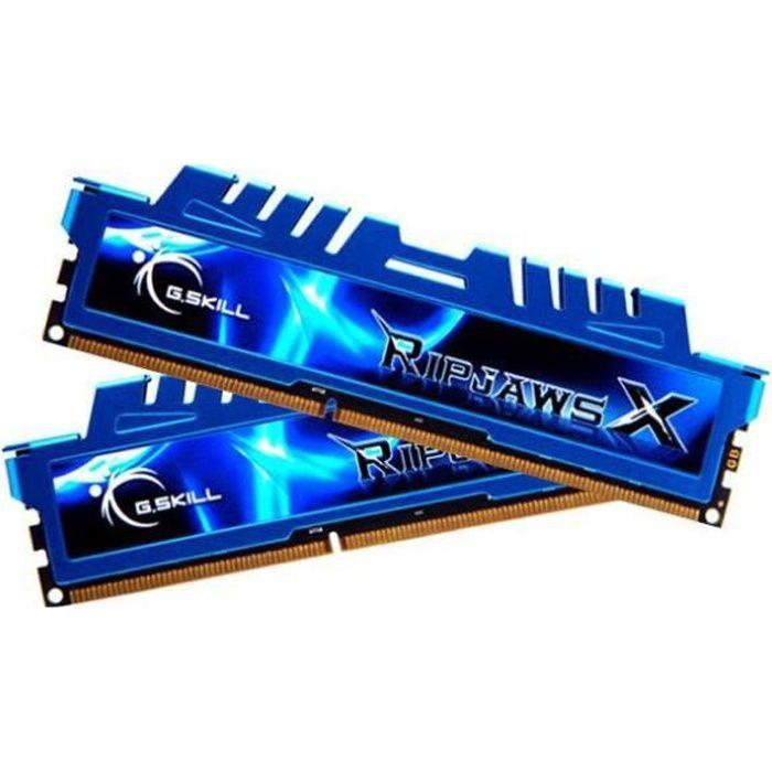 MÉMOIRE RAM G.SKILL RipjawsX 16Go (2 x 8Go) DDR3 1333MHz
