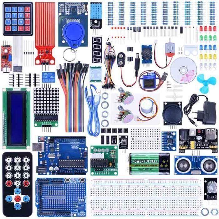 PC ASSEMBLÉ Arduino Carte UNO R3 Starter Kit B40700