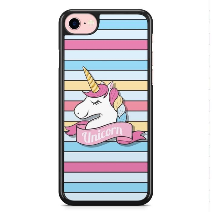 coque iphone 6 et iphone 6s licorne unicorn cute m