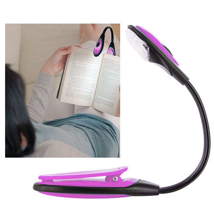lampe de lecture flexible led fushia achat vente lampe. Black Bedroom Furniture Sets. Home Design Ideas
