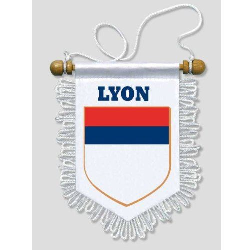 13 x 15 cm Blason Ecusson Football Fanion Voiture Saint-Etienne