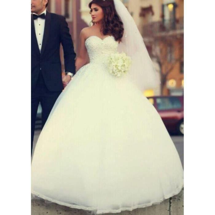 Robes de mariage - Achat / Vente pas cher