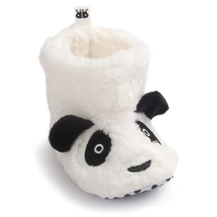 Pas 16 Et Bottes 12 Premier Blanc Coton 0 Fille Panda De Bébé Garçon Neige Mois Chaussure 6 En D'hiver ulT1K3cFJ