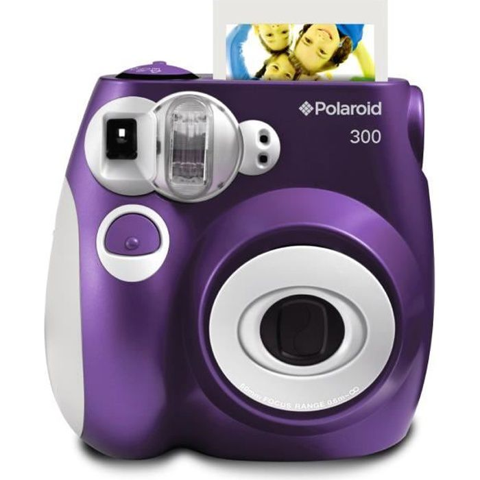 polaroid pic300 violet appareil photo instantan compact. Black Bedroom Furniture Sets. Home Design Ideas