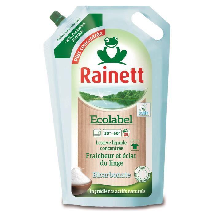 LESSIVE RAINETT Lessive liquide Ecolabel - Bicarbonate - 1
