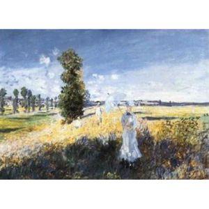 AFFICHE - POSTER Claude Monet Poster Reproduction - La Passeggiata