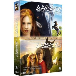 DVD FILM DVD Pack Whisper - Libres comme le vent + Whisper