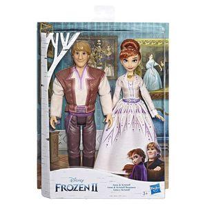 POUPÉE Coffret Poupées Anna et Kristoff romance Disney La