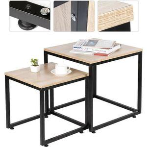 TABLE BASSE  Lot de 2 Tables Basses gigognes Detroit Design In