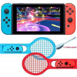 MANETTE JEUX VIDÉO Raquette de Tennis pour Joy-Con Nintendo Switch Me