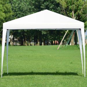 TONNELLE - BARNUM COSTWAY Tente de Jardin Pliante Hauteur Réglable A