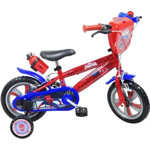 VÉLO ENFANT Vélo 12'' SPIDERMAN pour enfants de 2 à 4 ans avec