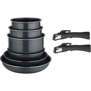 BATTERIE DE CUISINE FAGOR FG90 Batterie de cuisine - 8 pièces - Gris a