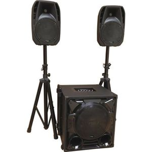PACK SONO IBIZA CUBE1100-BT Système de sonorisation triphoni