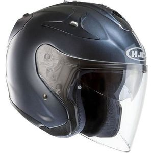 CASQUE MOTO SCOOTER Jet Hjc Fg-jet Metalico Anthracite