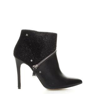 5cm Noir bottes noir Mare Maria Paola hauteur10 talon kTuwOPZilX