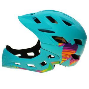CASQUE DE VÉLO Enfant 4-8 Ans Moto Vélo Cyclisme Casque Lumière L