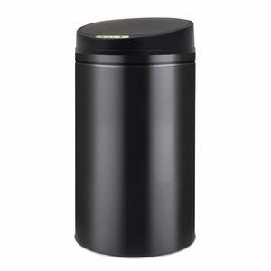 POUBELLE - CORBEILLE Poubelle à capteur automatique 42 L Noir