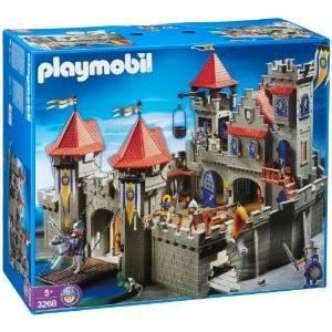 UNIVERS MINIATURE Playmobil - 3268 - Grand château royal